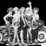 Pin-up Women